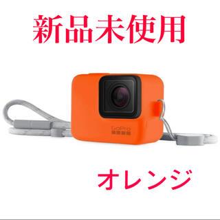 ゴープロ(GoPro)のGoPro ゴープロ スリーブ+ランヤード(HERO7) ハイパーオレンジ(モバイルケース/カバー)