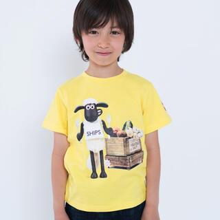 シップスキッズ(SHIPS KIDS)のSHIPS KIDS ひつじのショーン Tシャツ 100(Tシャツ/カットソー)