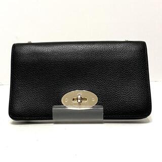 マルベリー(Mulberry)のマルベリー 財布 RL4004/205A100 黒 レザー(財布)
