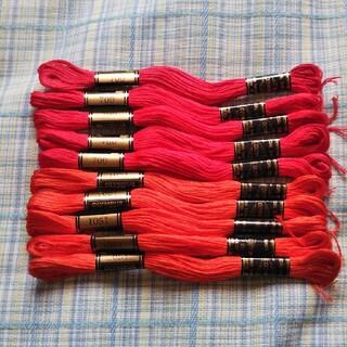 オリンパス(OLYMPUS)の刺繍糸 色番号 1051 オリムパス 5本(生地/糸)