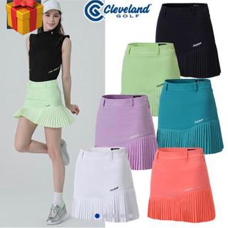 クリーブランドゴルフ(Cleveland Golf)のクリーブランドゴルフレディース 韓国21SSスカート  (ウエア)