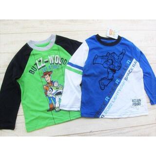 Disney - ディズニー キッズ 長袖Tシャツ 2枚組 トイストーリー 3T/〓YCZ(ネ)
