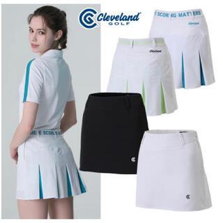 クリーブランドゴルフ(Cleveland Golf)のクリーブランドゴルフレディース 韓国スカート  新品(ウエア)