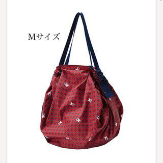 ファミリア(familiar)の新品・タグ付き ファミリア エコバッグ シュパット Mサイズ 赤色(エコバッグ)