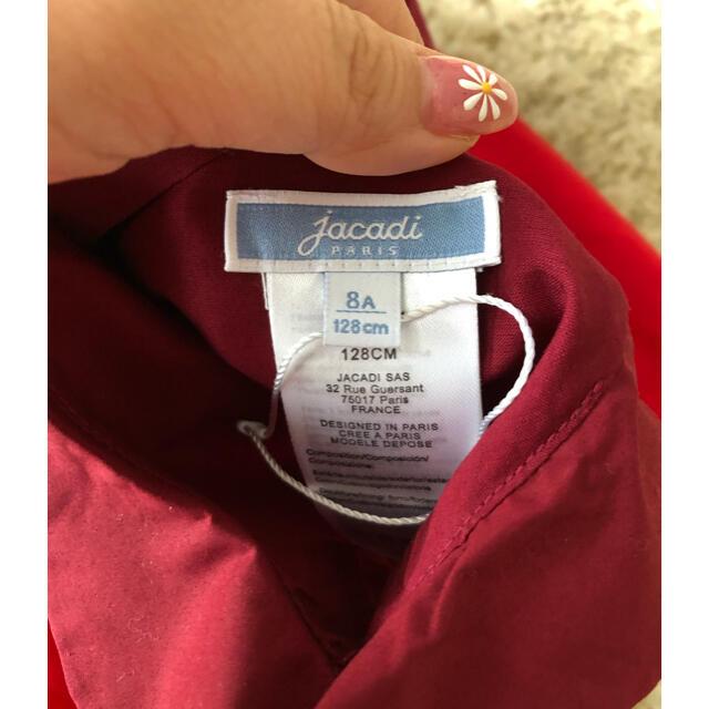 Jacadi(ジャカディ)の新品 20ss 大人気商品 ジャカディ Jacadi ワンピース 8a 128  キッズ/ベビー/マタニティのキッズ服女の子用(90cm~)(ワンピース)の商品写真