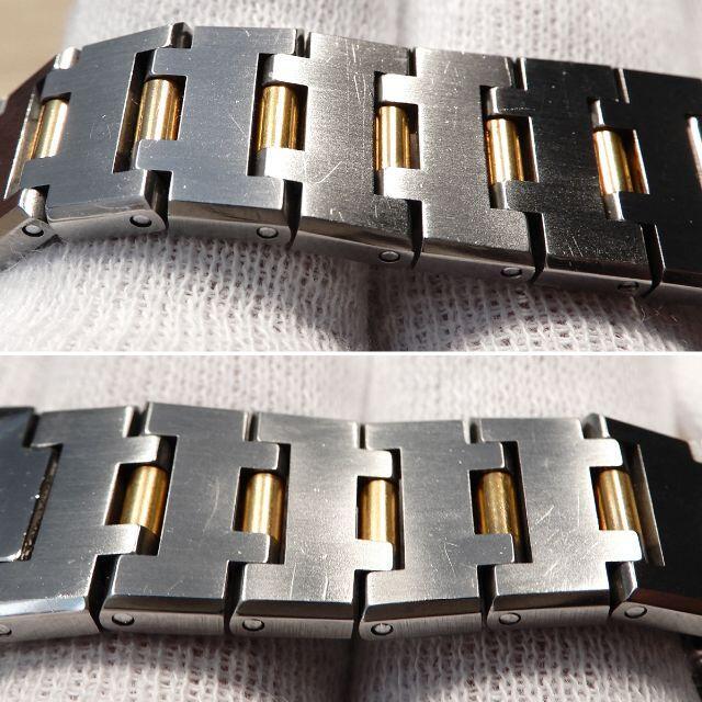BVLGARI(ブルガリ)の美品 ブルガリ 研磨済み ブルガリブルガリ コンビ レディース 時計 レディースのファッション小物(腕時計)の商品写真