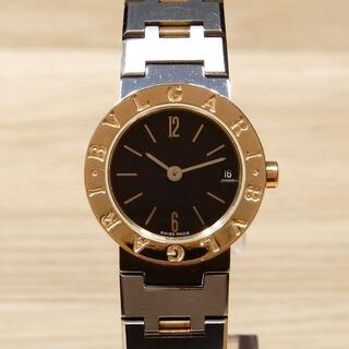 BVLGARI - 美品 ブルガリ 研磨済み ブルガリブルガリ コンビ レディース 時計