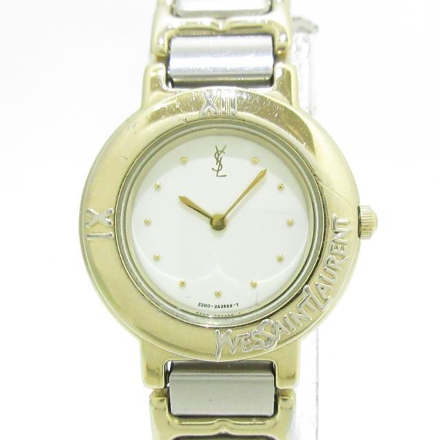 Saint Laurent(サンローラン)のサンローラン 腕時計 - 2200-229789Y レディースのファッション小物(腕時計)の商品写真