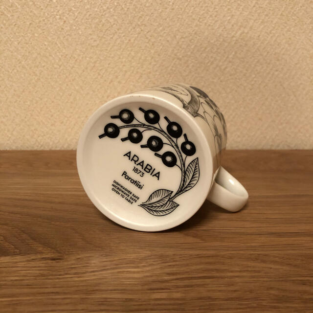 ARABIA(アラビア)の新品☆ アラビア パラティッシ  マグカップ 240ml 1個 インテリア/住まい/日用品のキッチン/食器(グラス/カップ)の商品写真