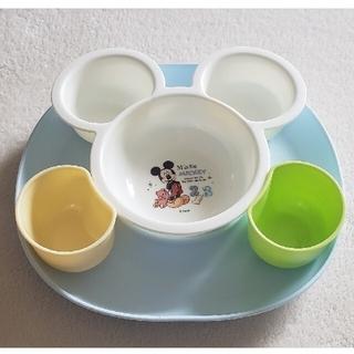 ディズニー(Disney)のミッキー キッズプレート(プレート/茶碗)