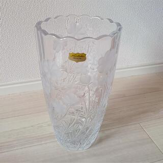 ノリタケ(Noritake)のノリタケ クリスタル 花瓶 未使用(花瓶)