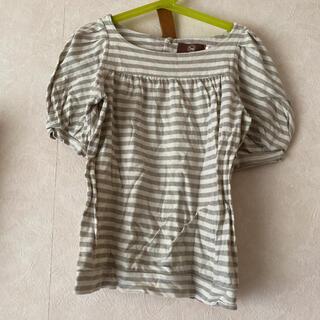 エーキャンビー(A CAN B)のAcanB  ふんわりお袖のカットソー 8歳用  AcanBで購入(Tシャツ/カットソー)