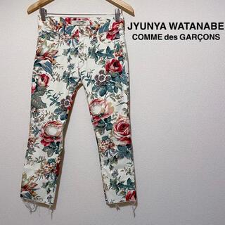 ジュンヤワタナベコムデギャルソン(JUNYA WATANABE COMME des GARCONS)のJYUNYA WATANABE COMME des GARÇONS 花柄パンツS(デニム/ジーンズ)