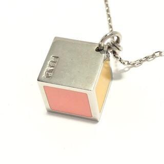 フェンディ(FENDI)のFENDI(フェンディ) ネックレス - 金属素材(ネックレス)
