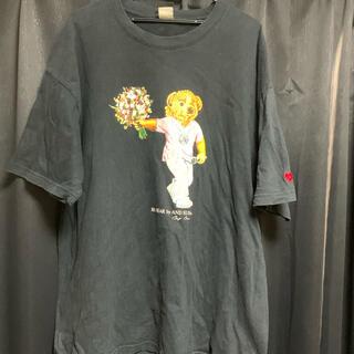 アンドサンズ(ANDSUNS)のANDSUNS × Big Bear コラボ半袖Tシャツ(Tシャツ/カットソー(半袖/袖なし))