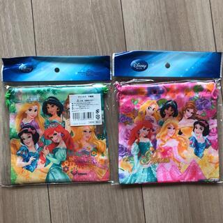 Disney - プリンセス 巾着袋 2つセット