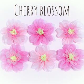 《再販》 桜 ペーパーフラワー フラワーペーパー 誕生日 前撮り 壁飾り(モビール)