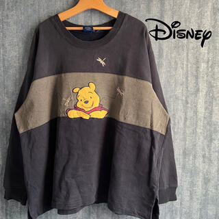 Disney - Disney ビンテージ 90's  プーさん POOH スウェット トレーナー