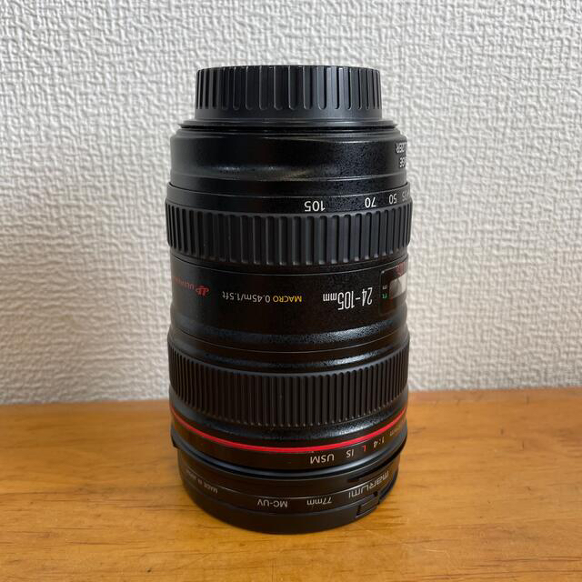 Canon(キヤノン)のCanon EF24-105mm L IS USM スマホ/家電/カメラのカメラ(レンズ(ズーム))の商品写真