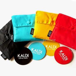 カルディ(KALDI)のカルディ  エコバッグ 4枚セット(エコバッグ)