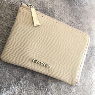 エモダ(EMODA)のEMODA L字ファスナー ミニ財布(財布)