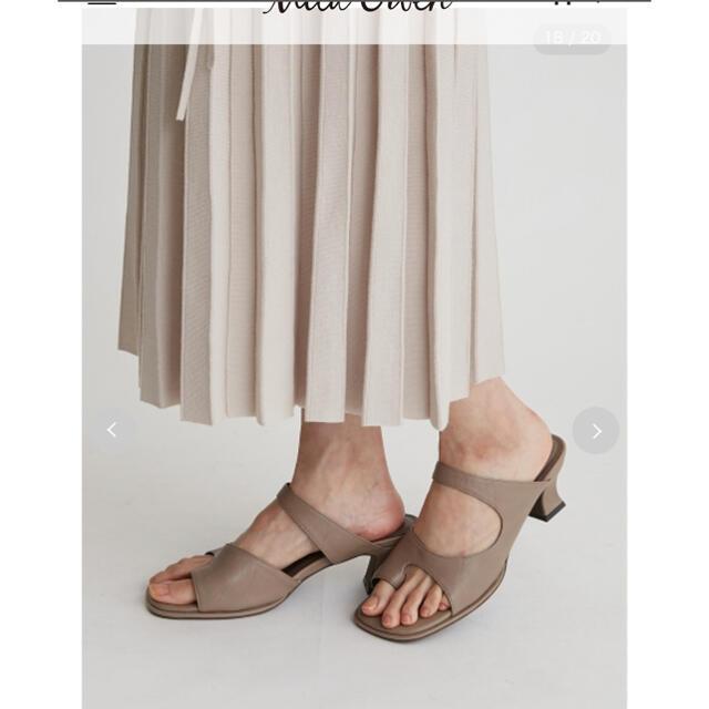 Mila Owen(ミラオーウェン)のトングヒールサンダル レディースの靴/シューズ(サンダル)の商品写真
