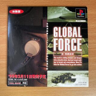 プレイステーション(PlayStation)のPS 新 戦闘国家 グローバルフォース 体験版 GLOBAL FORCE(家庭用ゲームソフト)
