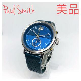 Paul Smith - 美品 ポールスミス  チルターン  クロノグラフ  メンズ腕時計