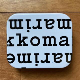 marimekko - マリメッコ ノベルティ ロゴ 缶