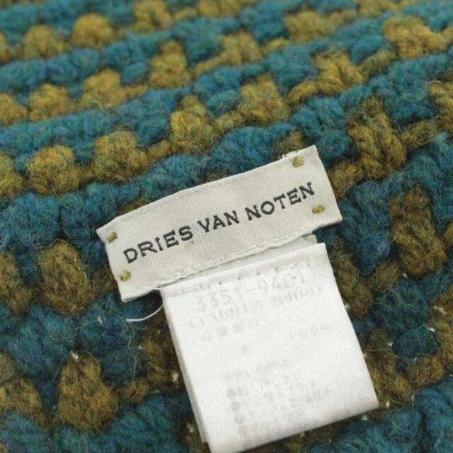 DRIES VAN NOTEN(ドリスヴァンノッテン)のDRIES VAN NOTEN マフラー メンズ メンズのファッション小物(マフラー)の商品写真