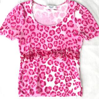 ブルーガール(Blugirl)のblugirl    ブルーガール ブルマリン    半袖 トップス 40(カットソー(半袖/袖なし))