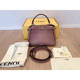 FENDI - 最終価格 フェンディ ミニピーカブー セレリア ハンドバッグ