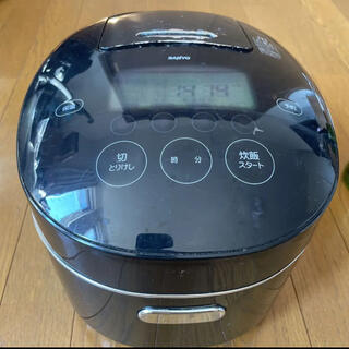 サンヨー(SANYO)の三洋 圧力IHジャー炊飯器:匠純銅 おどり炊き ECJ-XP10(K)(炊飯器)