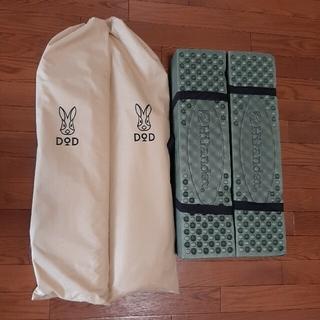 ドッペルギャンガー(DOPPELGANGER)のDODコット2点 ハイランダーマット2点(寝袋/寝具)