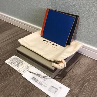 マルニ(Marni)のマルニ MARNI 二つ折り財布 バイカラー 新品未使用(折り財布)
