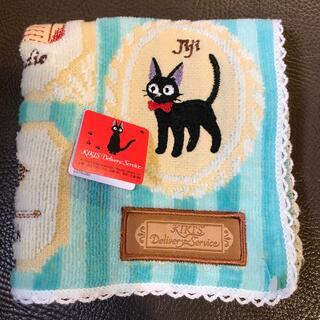 ジブリ(ジブリ)の魔女の宅急便タオルハンカチ新品(ハンカチ)