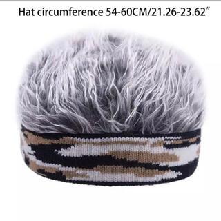 メンズヘアキャップ 迷彩 2種類(小道具)
