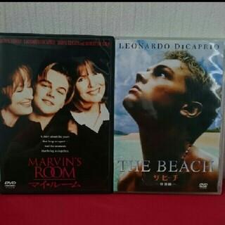 レオナルド・ディカプリオ「ザ・ビーチ」「マイ・ルーム」DVDセット(外国映画)