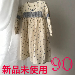 Caramel baby&child  - 新品 アポリナ apolina 風 ワンピース 韓国子供服 スモッキングドレス