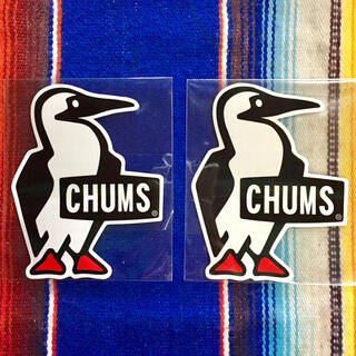 CHUMS - 新品 CHUMS Sticker 2枚セット チャムス ステッカー d