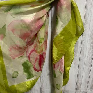 ART アート 総柄 ヴィンテージ スカーフ レトロ スカーフ 花柄 ネクタイ