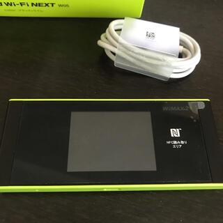 ファーウェイ(HUAWEI)のSpeed Wi-Fi NEXT W05(PC周辺機器)