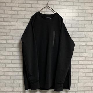 アタッチメント(ATTACHIMENT)のコットンコンプレッシャー 20aw アタッチメント attachment 黒(Tシャツ/カットソー(七分/長袖))