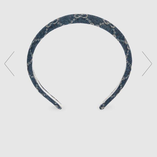 Gucci(グッチ)のグッチ ウォッシュドデニムヘアバンド レディースのヘアアクセサリー(カチューシャ)の商品写真