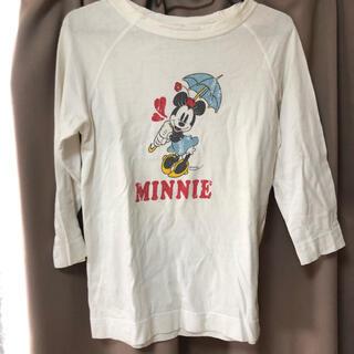 ディズニー(Disney)のディズニーTシャツ(シャツ/ブラウス(長袖/七分))