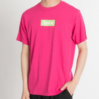 スピンズ(SPINNS)の【新品】スピンズ Spice Tシャツ ピンクTシャツ ロゴTシャツ(Tシャツ(半袖/袖なし))