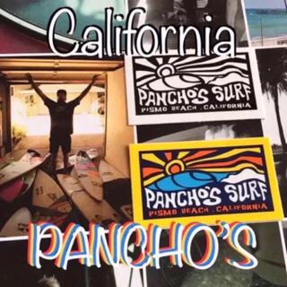 ヴァンズ(VANS)のPANCHOSパンチョズSURF USピスモBEACH限定 ステッカーセット(サーフィン)