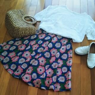 チチカカ(titicaca)のチチカカ春スカート(フレアー)(ひざ丈スカート)