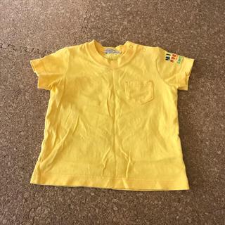 mikihouse - ミキハウス Tシャツ 80 黄色