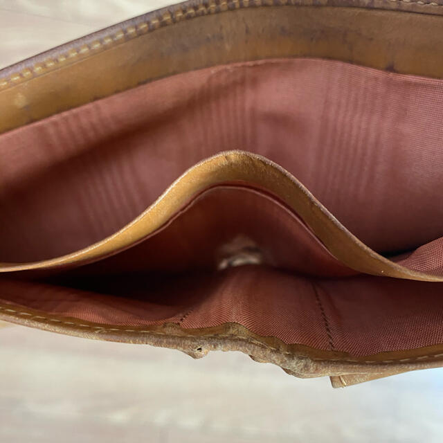 WHITEHOUSE COX(ホワイトハウスコックス)のホワイトハウスコックス 二つ財布 キャメル メンズのファッション小物(折り財布)の商品写真